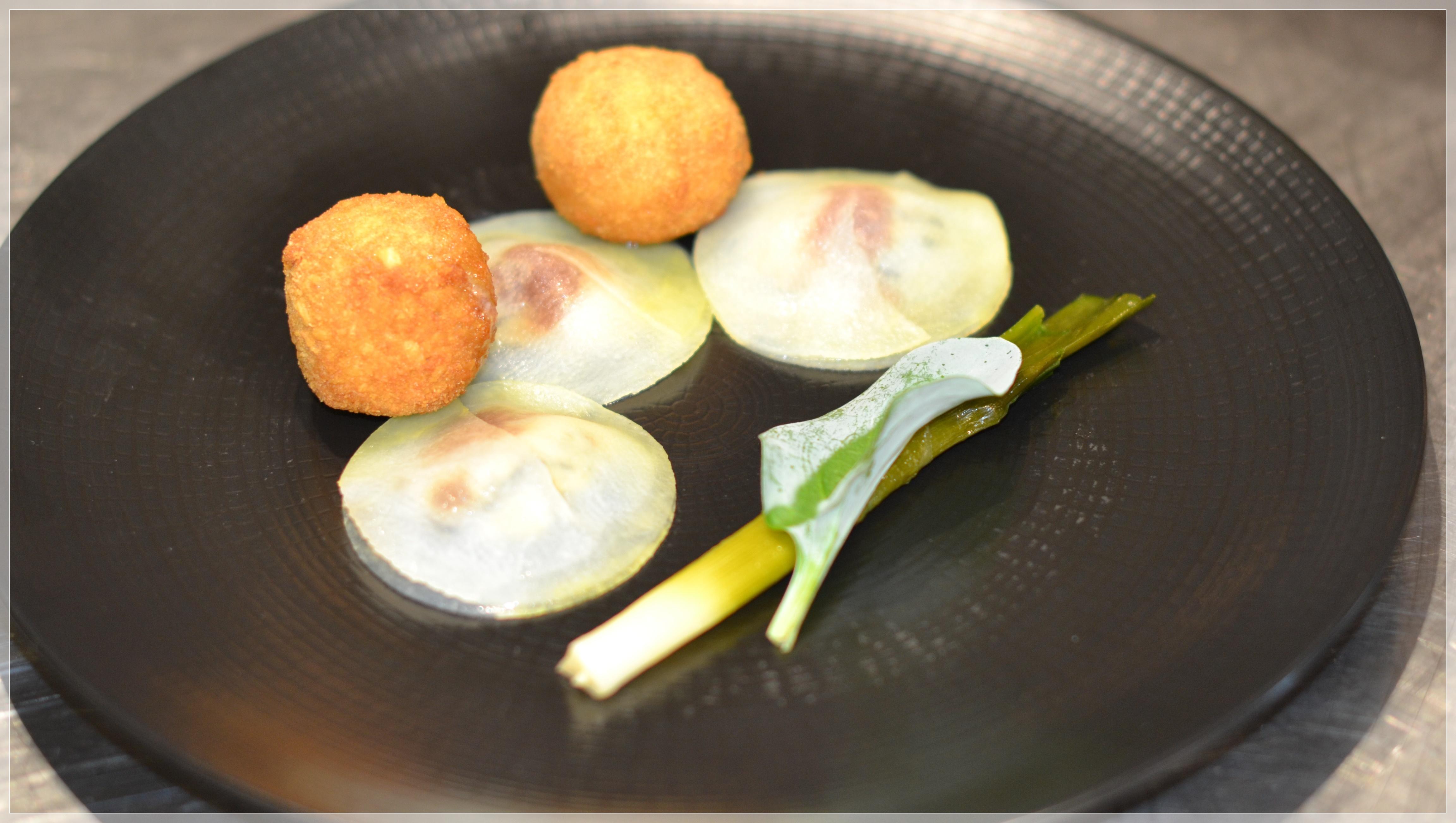 Plat huîtres restaurant